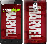 "Чехол на Lenovo Vibe P1m Marvel ""2752c-154"""