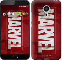 "Чехол на Meizu MX5 Marvel ""2752u-105"""