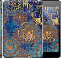 "Чехол на iPad 5 (Air) Золотой узор ""678c-26"""