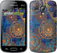 "Чохол Samsung Galaxy S Duos s7562 zka Золотий візерунок ""678c-84"""