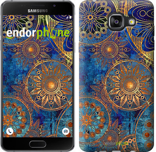"Чохол на Samsung Galaxy A5 (2016) A510F Золотий візерунок ""678c-158"""