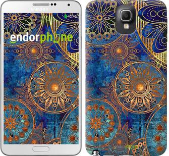 "Чохол на Samsung Galaxy Note 3 N9000 Золотий візерунок ""678c-29"""