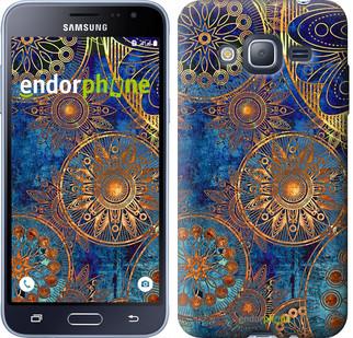 "Чохол на Samsung Galaxy J3 Duos (2016) J320H Золотий візерунок ""678c-265"""