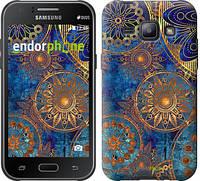 """Чохол на Samsung Galaxy J1 J100H Золотий візерунок """"678c-104"""""""