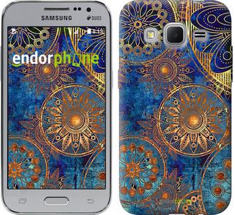 """Чохол на Samsung Galaxy J1 Mini J105H Золотий візерунок """"678c-258"""""""