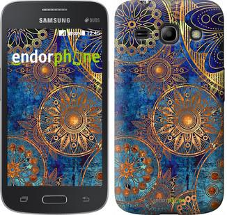 "Чехол на Samsung Galaxy Star Advance G350E Золотой узор ""678u-210"""