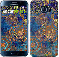 "Чохол на Samsung Galaxy Star Plus S7262 Золотий візерунок ""678u-360"""