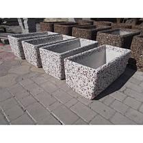 Вазон садовый уличный «Фрегат» бетонный, фото 3