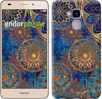 """Чохол на Huawei Honor 5C Золотий візерунок """"678u-356"""""""