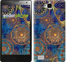 "Чохол на Huawei Y6 Pro Золотий візерунок ""678u-355"""