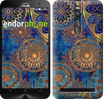 """Чохол на Asus Zenfone 2 ZE551ML Золотий візерунок """"678c-122"""""""