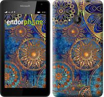 "Чохол на Microsoft Lumia 640 Золотий візерунок ""678c-273"""