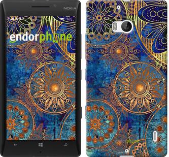 """Чехол на Nokia Lumia 930 Золотой узор """"678u-311"""""""