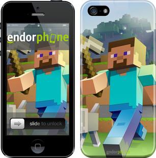 """Чехол на iPhone SE Minecraft 4 """"2944c-214"""""""
