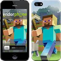 "Чохол на iPhone SE Minecraft 4 ""2944c-214"""