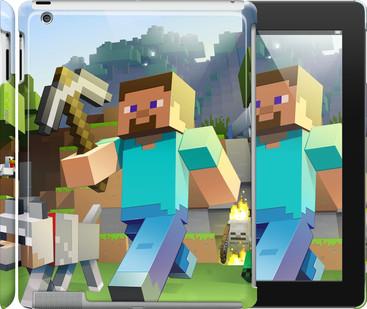 """Чехол на iPad 2/3/4 Minecraft 4 """"2944c-25"""""""