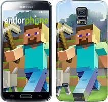 "Чехол на Samsung Galaxy S5 Duos SM G900FD Minecraft 4 ""2944c-62"""