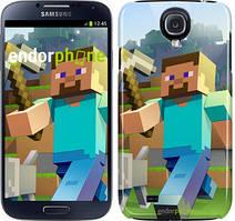 """Чохол на Samsung Galaxy S4 i9500 Minecraft 4 """"2944c-13"""""""