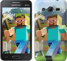 "Чохол на Samsung Galaxy Core 2 G355 Minecraft 4 ""2944c-75"""