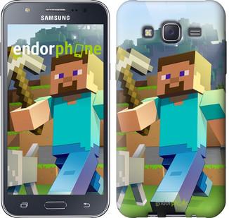 "Чехол на Samsung Galaxy J5 J500H Minecraft 4 ""2944c-100"""