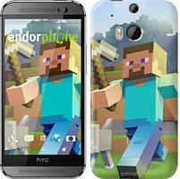 "Чохол на HTC One M8 Minecraft 4 ""2944c-30"""