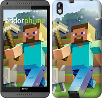 """Чохол на HTC Desire 816 Minecraft 4 """"2944u-169"""""""