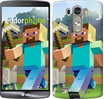 "Чохол на LG G3 D855 Minecraft 4 ""2944c-47"""