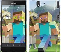 "Чехол на Sony Xperia Z3 Compact D5803 Minecraft 4 ""2944c-277"""