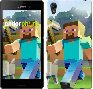 "Чехол на Sony Xperia Z3+ Dual E6533 Minecraft 4 ""2944u-165"""