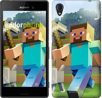 "Чохол на Sony Xperia C4 Minecraft 4 ""2944u-295"""