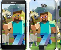 "Чохол на Sony Xperia E4 Dual Minecraft 4 ""2944c-87"""