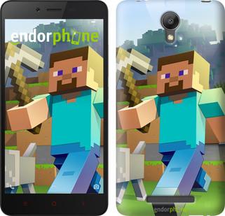 "Чехол на Xiaomi Redmi Note 2 Minecraft 4 ""2944c-96"""