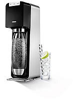 #Сифон для приготовления газированных напитков POWER (с пластиковой бутылкой c металлическим дном)