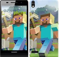 "Чохол на Huawei Ascend P6 Minecraft 4 ""2944c-39"""