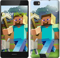 "Чохол на Huawei Ascend P8 Lite Minecraft 4 ""2944u-126"""