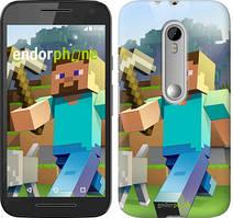 """Чохол на Motorola Moto G3 Minecraft 4 """"2944u-318"""""""