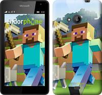 "Чехол на Microsoft Lumia 640 Minecraft 4 ""2944c-273"""