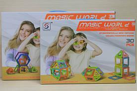Магнитный конструктор - игра для любознательных детей