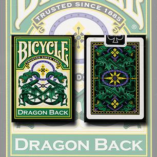 Карти гральні | Bicycle Dragon Back by Green Gamblers Warehouse, фото 2