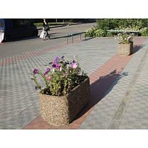 Вазон садовый уличный «Атлант» бетонный, фото 2