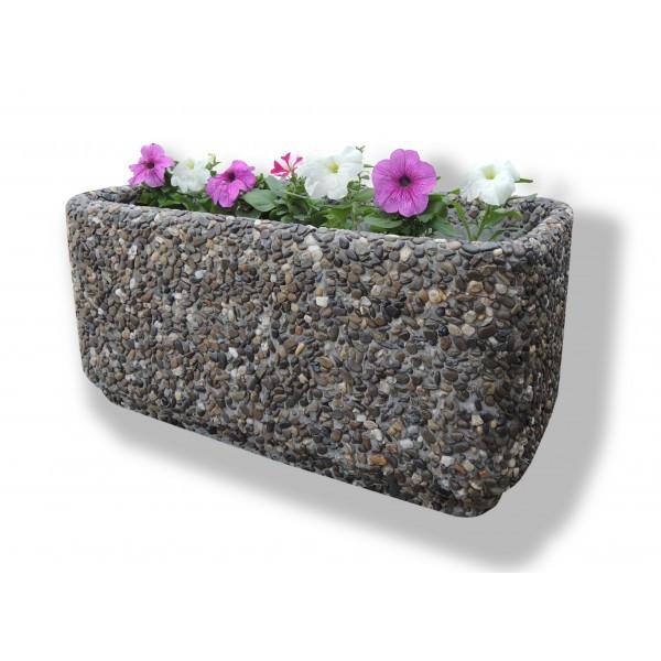 Вазон садовый уличный «Атлант» бетонный
