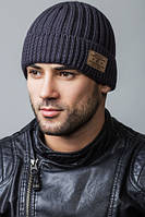"Тёплая шапка ""AMERICA FLIP"" - 100603 фума"