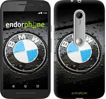 """Чохол на Motorola Moto G3 BMW """"845u-318"""""""