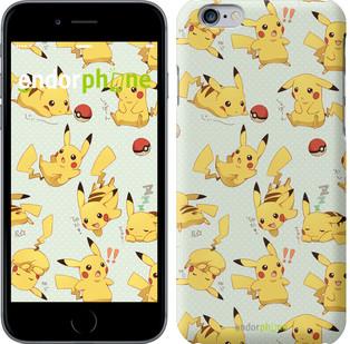 """Чехол на iPhone 7 Plus Pikachu pokemon go """"3769c-337"""""""