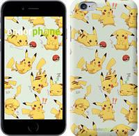 """Чехол на iPhone 6 Pikachu pokemon go """"3769c-45"""""""