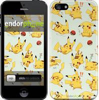 "Чохол на iPhone 5 pokemon Pikachu go ""3769c-18"""