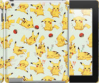 "Чехол на iPad 2/3/4 Pikachu pokemon go ""3769c-25"""