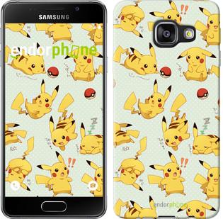 "Чохол на Samsung Galaxy A3 (2016) A310F pokemon Pikachu go ""3769c-159"""
