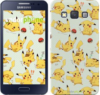 "Чехол на Samsung Galaxy A3 A300H Pikachu pokemon go ""3769c-72"""