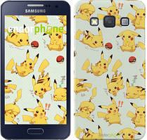 "Чохол на Samsung Galaxy A3 A300H pokemon Pikachu go ""3769c-72"""